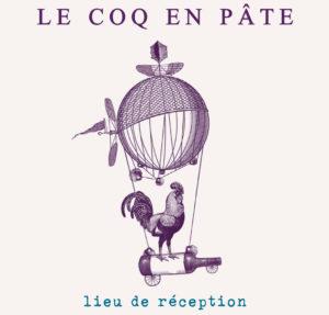 Logo - Le Coq en Pâte - Lieu de réception
