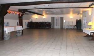 Salle de réception vide