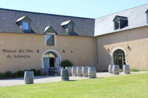 Maisons des Vin de Jurançon à Lacommande.
