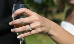 Brindis de la mariée