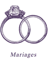 mariage au coq en pate